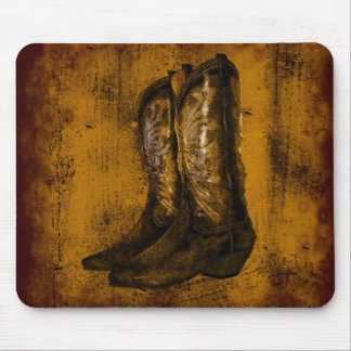 KRW Western Wear Cowboy Boots Mouse Pad