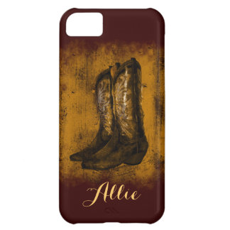 KRW Western Wear Cowboy Boots Phone Case 5c