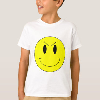 KRW Yellow Evil Smiley Face Shirt