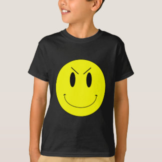 KRW Yellow Evil Smiley Face Tees
