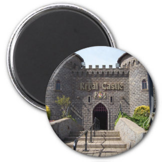 Kryal Castle in Ballarat Australia 6 Cm Round Magnet