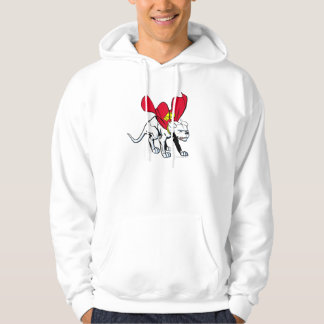 Krypto Growls Hooded Sweatshirts