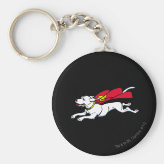 Krypto the dog key ring