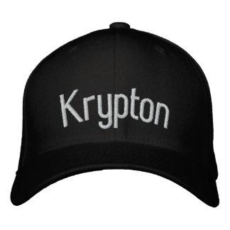 Krypton Embroidered Baseball Cap