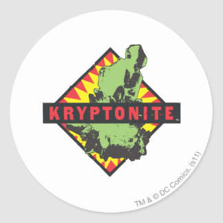 Kryptonite Round Sticker