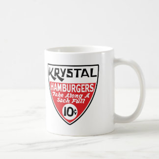 Krystal 10 Cent Shield Coffee Mug
