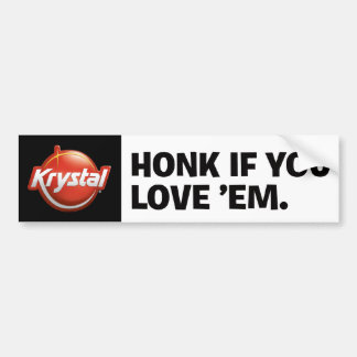 Krystal Bumper Sticker