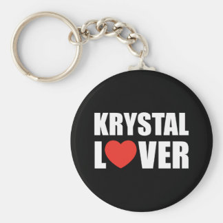 Krystal Lover Key Ring