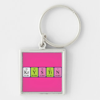 Krystin periodic table name keyring