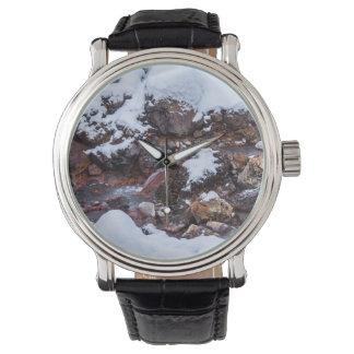 Krysuvic-Seltun Stream Iceland Wrist Watches