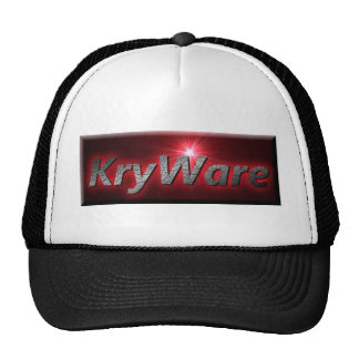 KryWare non-virtual products. Mesh Hats