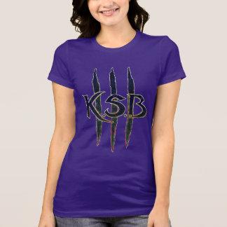 KSB Blue Grunge Logo T-Shirt