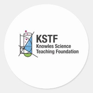 KSTF Round Stickers