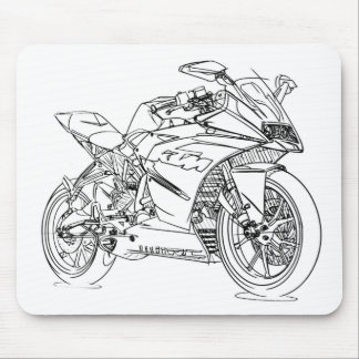 KT RC 125-390 2014 MOUSE PAD