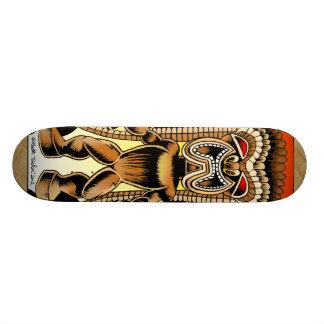 Ku, Hawaiian Tiki God Custom Skate Board