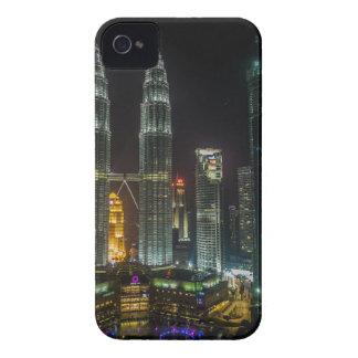 Kuala Lumpar Skyline At Night iPhone 4 Case