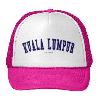 Kuala Lumpur Cap
