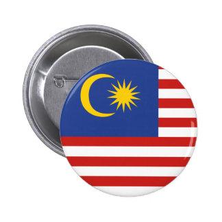 kuala lumpur flag 6 cm round badge