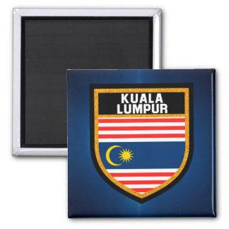 Kuala Lumpur Flag Magnet