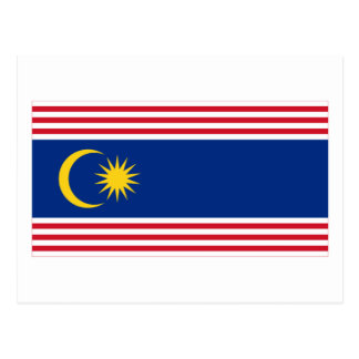Kuala Lumpur flag Post Cards