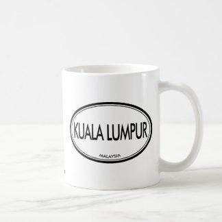Kuala Lumpur, Malaysia Basic White Mug