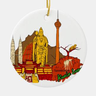 Kuala Lumpur - Mayalsia.png Christmas Ornament