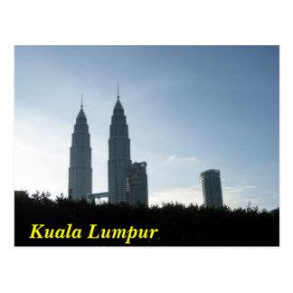 Kuala Lumpur Towers Postcards