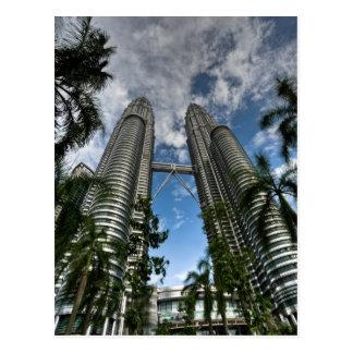 Kuala Lumpur Twin Towers Postcard