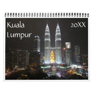 kuala lumpur wall calendars