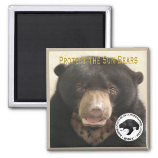 KUAMUT-PROTECT THE SUN BEARS MAGNET