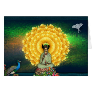Kuan Yin Wall Tapestry Card
