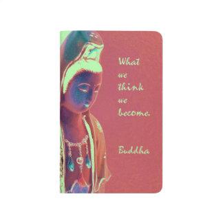 Kuan Yin with inspirational Buddha quote Journal