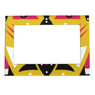kuba tribal magnetic picture frame