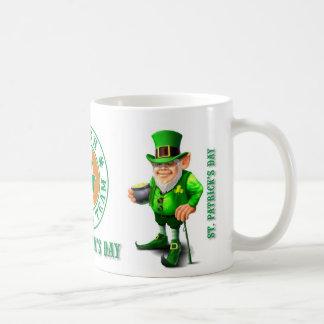 Kubek - St. Patricks Day Basic White Mug