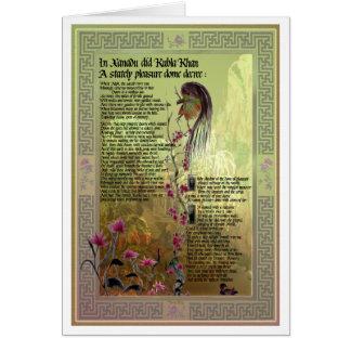 Kubla Khan Card