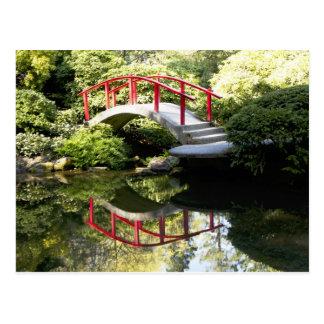 Kubota Gardens Bridge Postcard