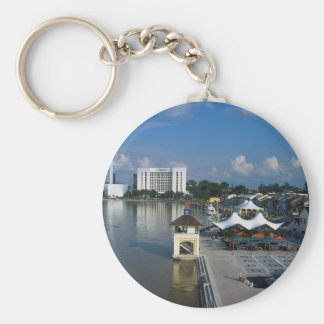 Kuching, capital of Sarawak, Malaysia Key Chain