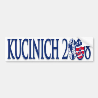kucinich 2008 bumper sticker