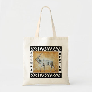 Kudu Antelope Safari tote bag