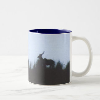 Kudu at Sunset Two-Tone Coffee Mug