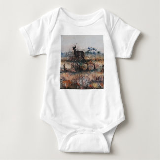Kudu Bull Baby Bodysuit