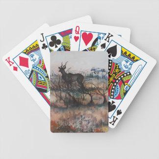 Kudu Bull Bicycle Playing Cards