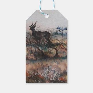Kudu Bull Gift Tags