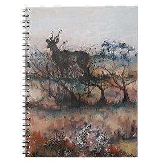 Kudu Bull Notebook