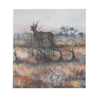 Kudu Bull Notepad