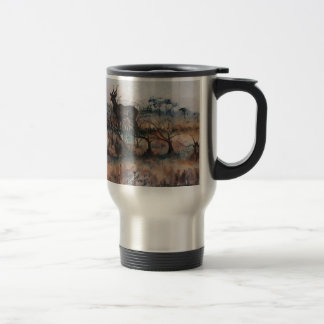 Kudu Bull Travel Mug