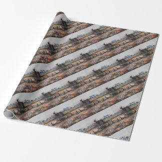 Kudu Bull Wrapping Paper