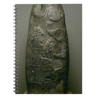 Kudurru of Nazimaruttash, King of Babylon, c.1328- Notebook