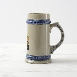 Kuebler Half & Half Beer Stein