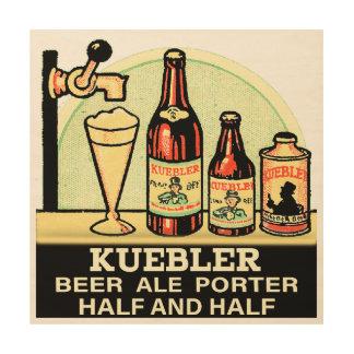 Kuebler Half & Half Wood Print